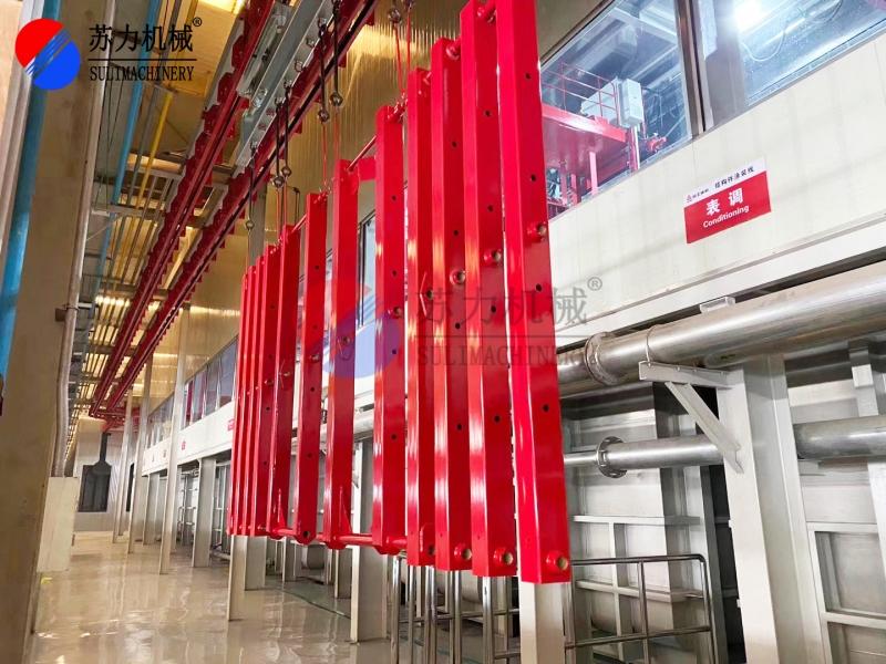 结构件喷粉生产线